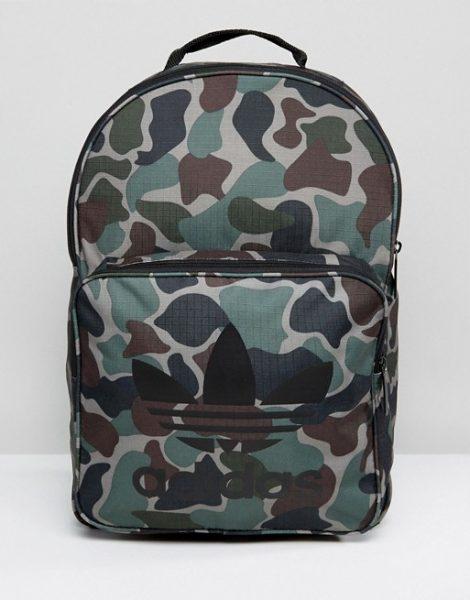 adidas Originals Classic Backpack In Camo BQ6084 – The