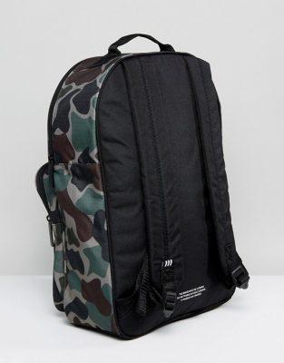 adidas Originals Classic Backpack In Camo BQ6084