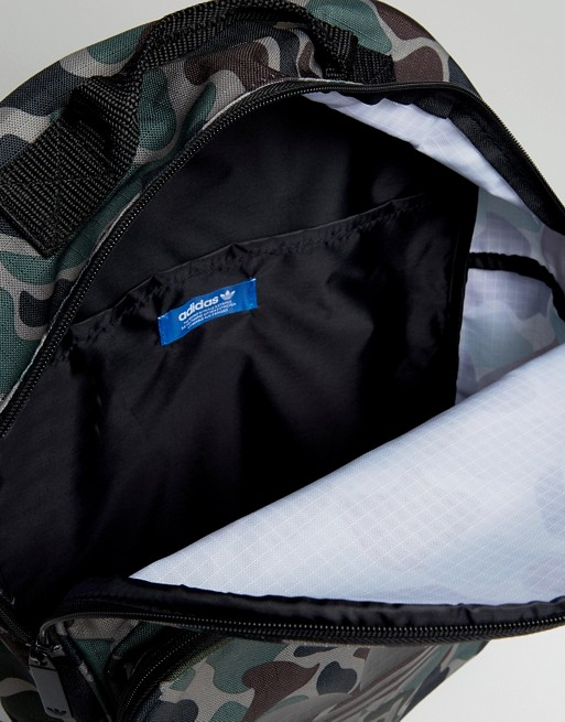 adidas Originals Classic Backpack In Camo BQ6084