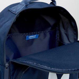adidas Originals Trefoil Backpack In Collegiate Navy With Front Pocket BK6724